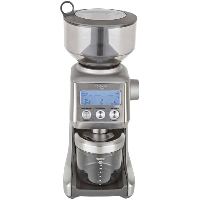 Sage The Smart Grinder Pro BCG820BSSUK Coffee Grinder - Stainless Steel - BCG820BSSUK_SS - 1
