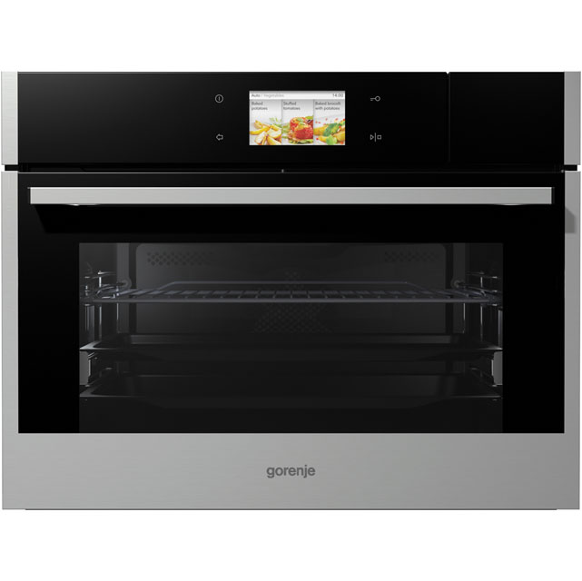 Gorenje Superior Line BCS599S22X Built In Compact Steam Oven - Stainless Steel - BCS599S22X_SS - 1