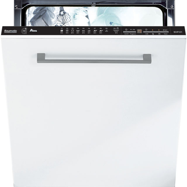 Baumatic BDIF631 Fully Integrated Standard Dishwasher
