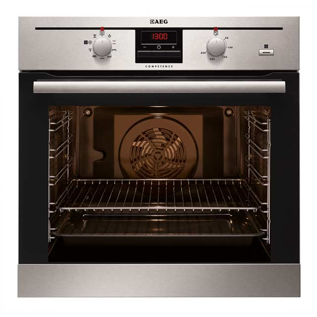 AEG Competence BE200362KM Built In Electric Single Oven with added Steam Function