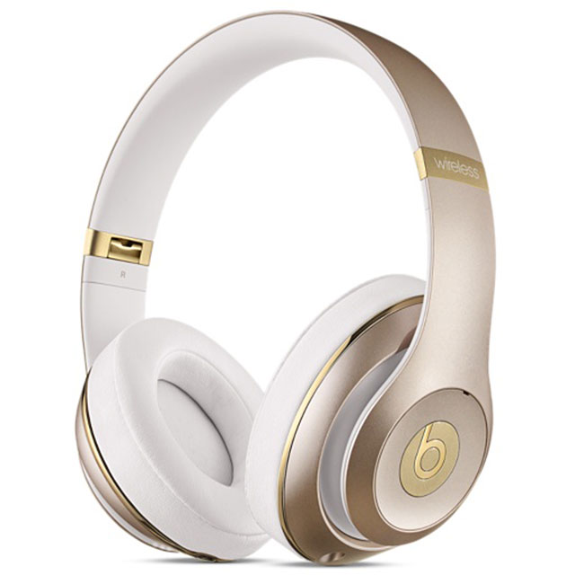 Beats by Dr. Dre Studio Wireless Headphones - Gold - MHDM2ZM/B - 1
