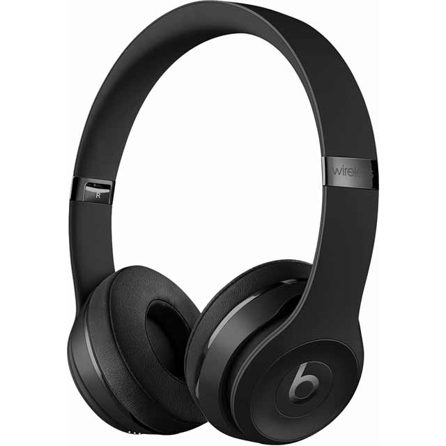 Beats by Dr. Dre Solo 3 Wireless Headphones - Black - MP582ZM/A - 1