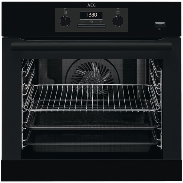 AEG Mastery Electric Single Oven - Black - A Rated