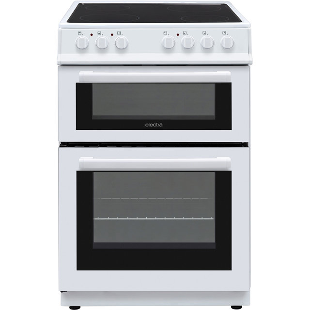 Electra BEF60TEW Electric Cooker - White - BEF60TEW_WH - 1