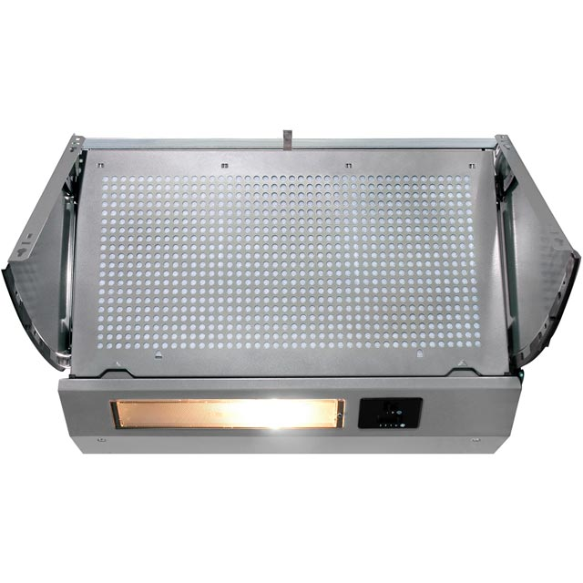 Baumatic BEINT60X 60 cm Integrated Cooker Hood - Metallic - C Rated - BEINT60X_MC - 1