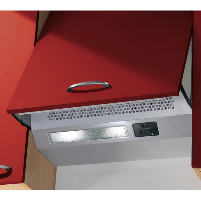 Baumatic BEINT60X Built In Integrated Cooker Hood - Metallic - BEINT60X_MC - 1