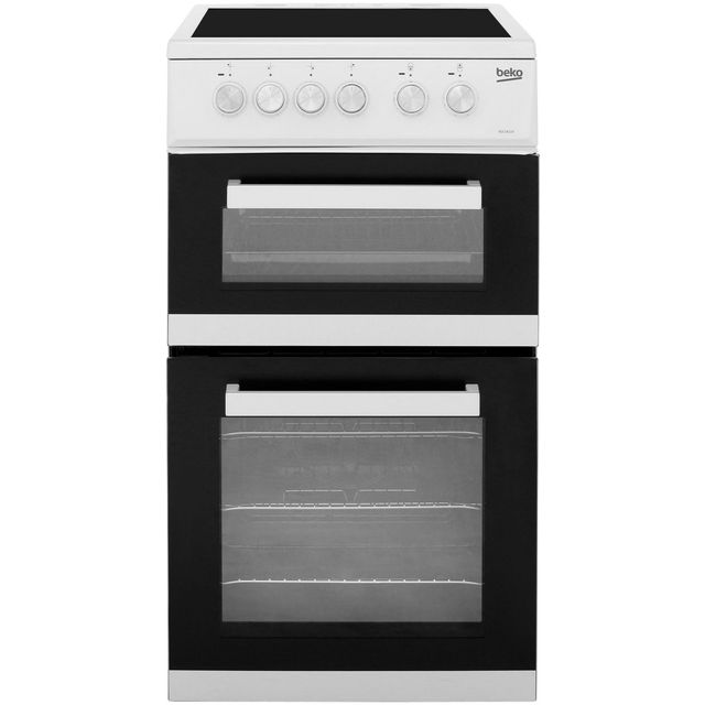 Beko Electric Cooker with Ceramic Hob - White - A Rated