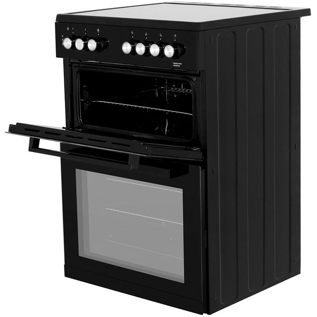 Beko ADC6M13K Electric Cooker - Black - ADC6M13K_BK - 2