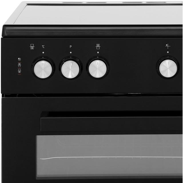 Beko ADC6M13K Electric Cooker - Black - ADC6M13K_BK - 4
