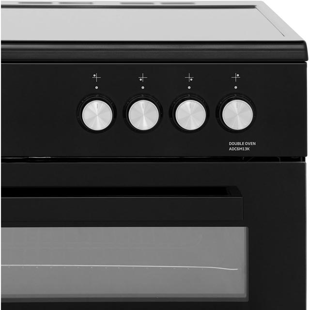 Beko ADC6M13K Electric Cooker - Black - ADC6M13K_BK - 5