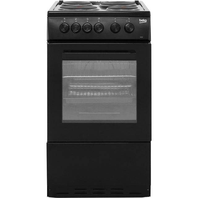 Beko AS530K Electric Cooker - Black - AS530K_BK - 1