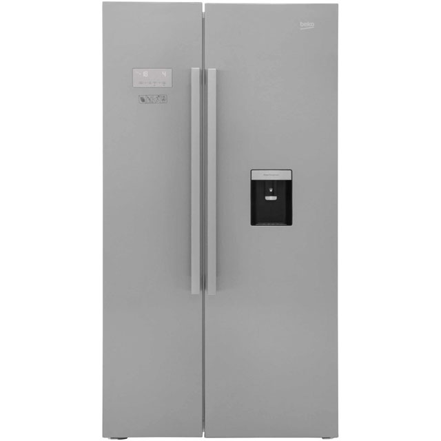 Beko ASD241X American Fridge Freezer - Stainless Steel