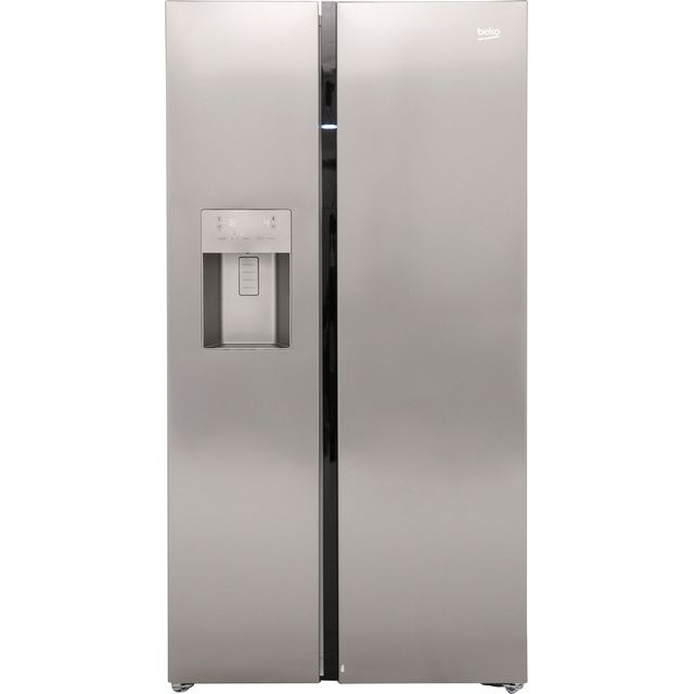 Beko Free Standing American Fridge Freezer in Stainless Steel