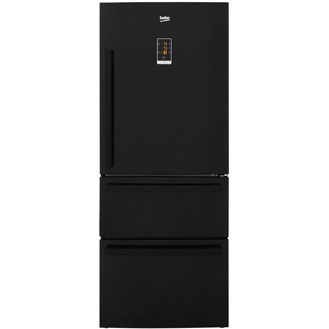 Beko American Fridge Freezer - Black - A+ Rated