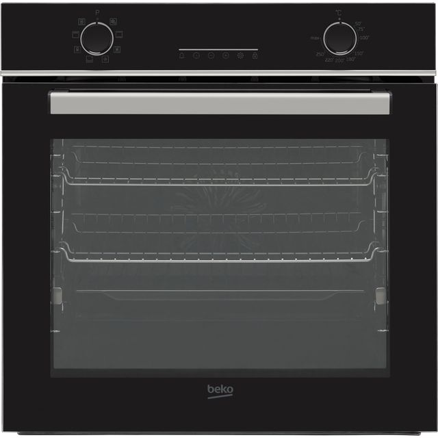 Beko AeroPerfect� RecycledNet� BBIM14300BC Built In Electric Single Oven - Black - A Rated
