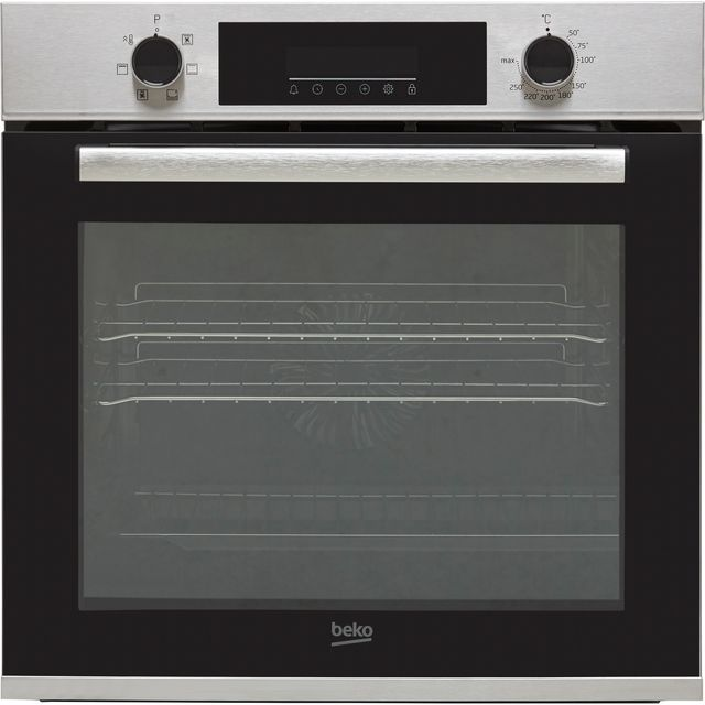 Beko AeroPerfect™ BBRIE22300XD Built In Electric Single Oven - Stainless Steel - BBRIE22300XD_SS - 1