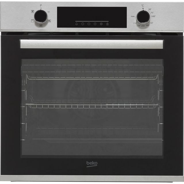 Beko AeroPerfect™ BBRIF22300X Built In Electric Single Oven - Stainless Steel - BBRIF22300X_SS - 1