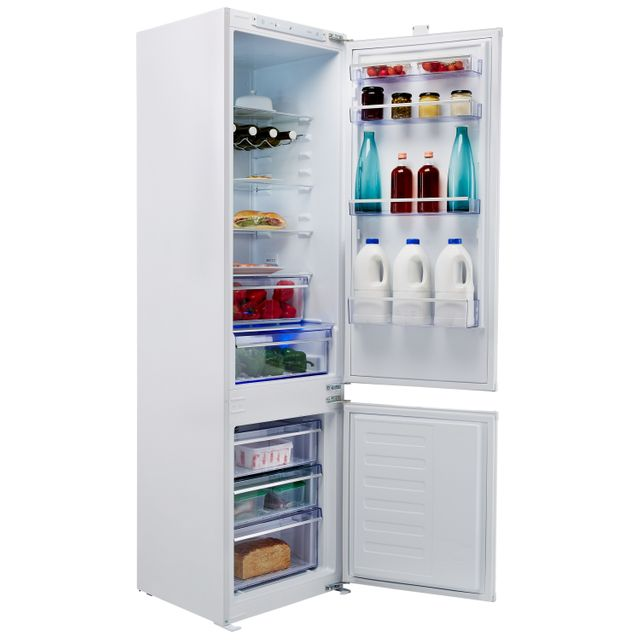 Beko BCBFD1973 Integrated 70/30 Frost Free Fridge Freezer - White - A+ Rated