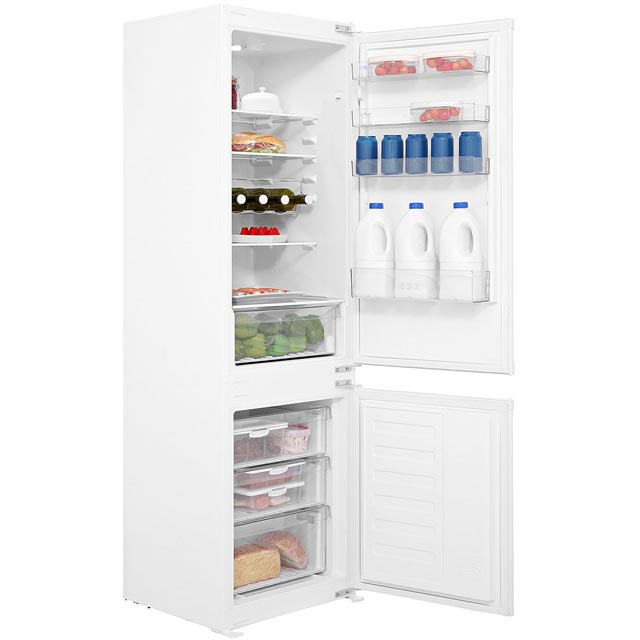 Beko BCSD173 Built In Fridge Freezer - White - BCSD173_WH - 1
