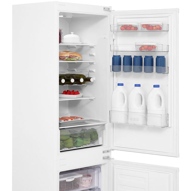 Beko BCSD173 Built In 70/30 Fridge Freezer - White - BCSD173_WH - 2