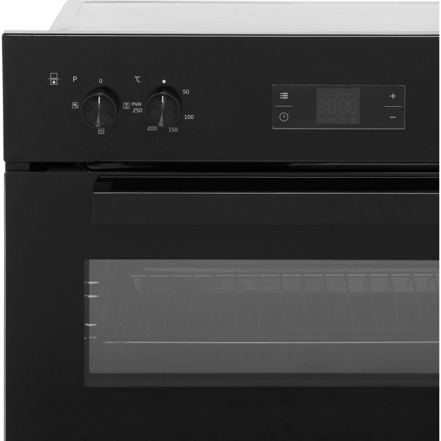 Beko BDF22300B Built In Double Oven - Black - BDF22300B_BK - 4