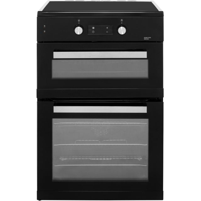 Beko BDI6C55K 60cm Electric Cooker with Induction Hob - Black - A/A Rated