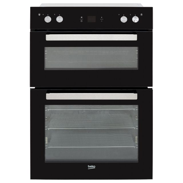 Beko BDM243BOC Built In Double Oven - Black - BDM243BOC_BK - 1