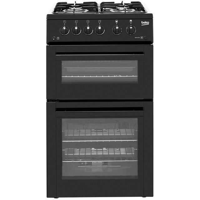 Beko BDVG592K Gas Cooker - Black