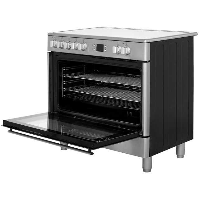 Beko BHSC90X Electric Range Cooker - Stainless Steel - BHSC90X_SS - 2