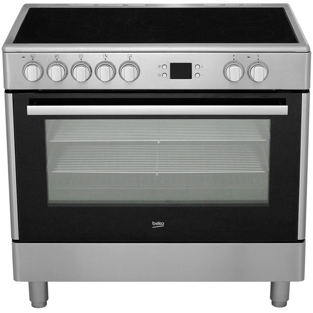 Beko BHSC90X Electric Range Cooker - Stainless Steel - BHSC90X_SS - 4