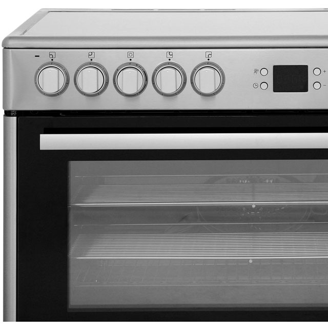 Beko BHSC90X Electric Range Cooker - Stainless Steel - BHSC90X_SS - 5