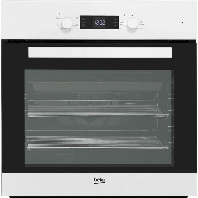 Beko EcoSmart BIF22300W Built In Electric Single Oven - White - BIF22300W_WH - 1