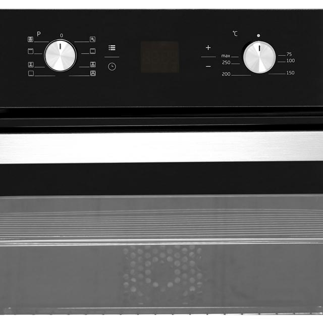 Beko BIM14300BC Built In Electric Single Oven - Black - BIM14300BC_BK - 3