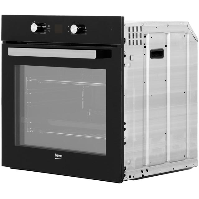 Beko BIM14300BC Built In Electric Single Oven - Black - BIM14300BC_BK - 4