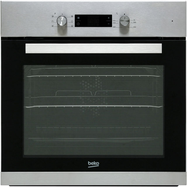 Beko BRIE22300XD Built In Electric Single Oven - Stainless Steel - A Rated - BRIE22300XD_SS - 1