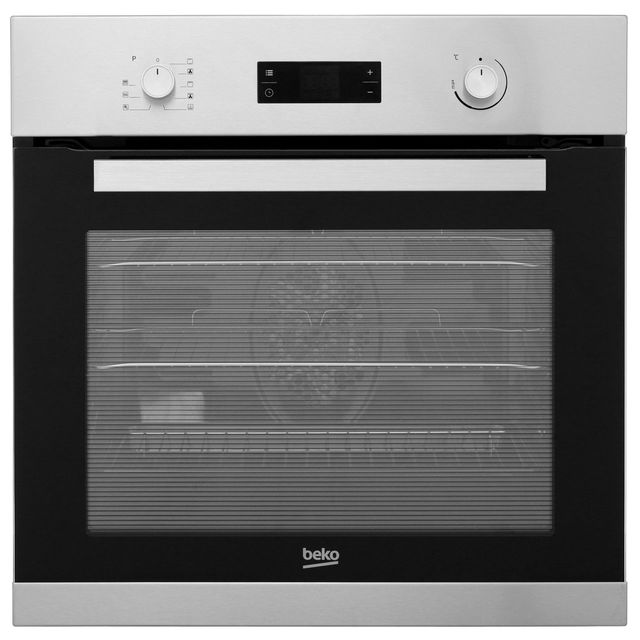 Beko BRIE22300XP Built In Electric Single Oven - Stainless Steel - A Rated - BRIE22300XP_SS - 1
