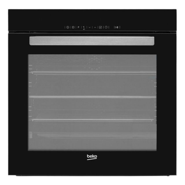 Beko Split&Cook BVM34400BC Built In Electric Single Oven - Black - A Rated - BVM34400BC_BK - 1
