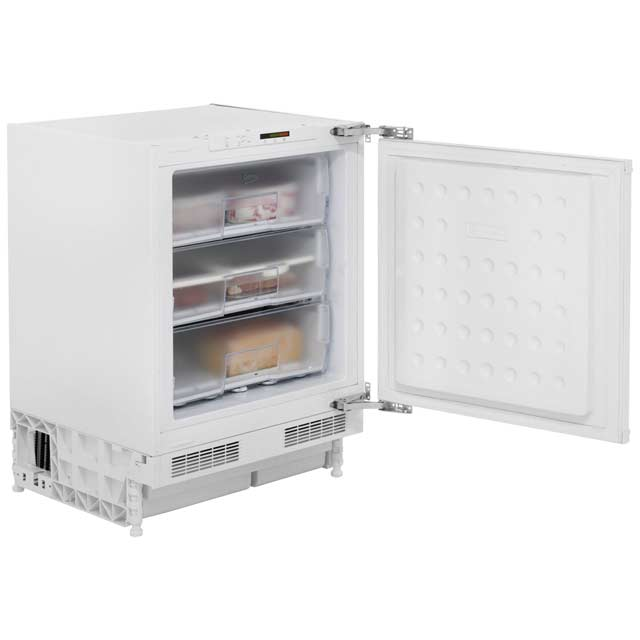 Beko BZ31 Built Under Under Counter Freezer - White - BZ31_WH - 1