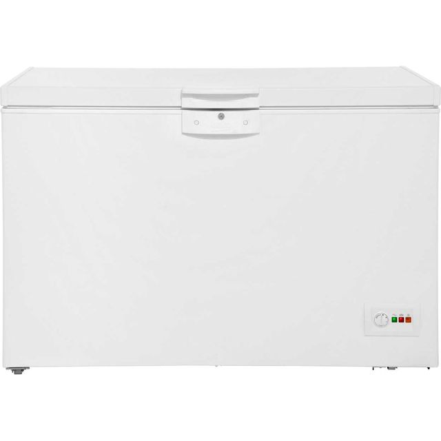 Beko CF1300APW Chest Freezer - White - A+ Rated - CF1300APW_WH - 1