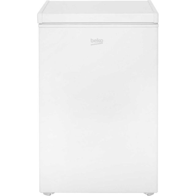 Beko CF374W Chest Freezer - White - A+ Rated - CF374W_WH - 1