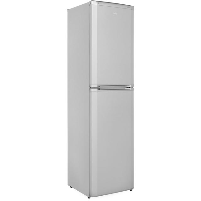 Beko 40/60 Frost Free Fridge Freezer - Silver - A+ Rated