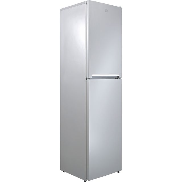 Beko CFG1501S 40/60 Frost Free Fridge Freezer - Silver - A+ Rated