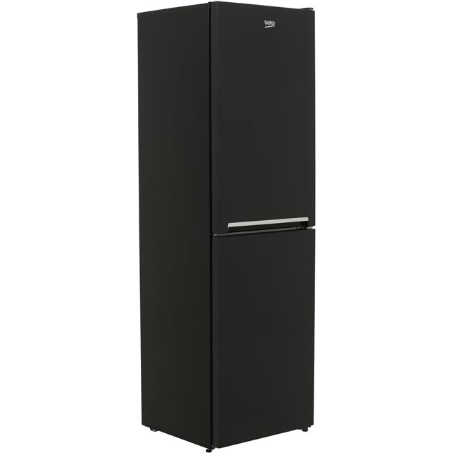 Beko CFG1582B 50/50 Frost Free Fridge Freezer - Black - A+ Rated - CFG1582B_BK - 1