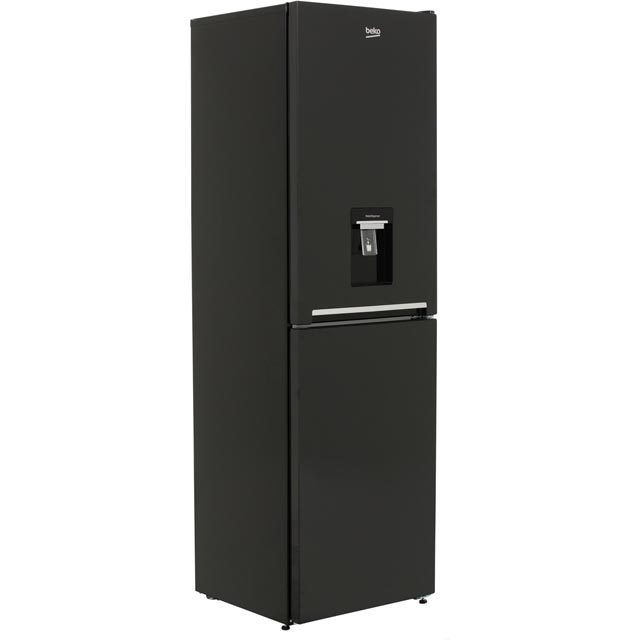 Beko CFG1582DB 50/50 Frost Free Fridge Freezer - Black - A+ Rated Best Price, Cheapest Prices