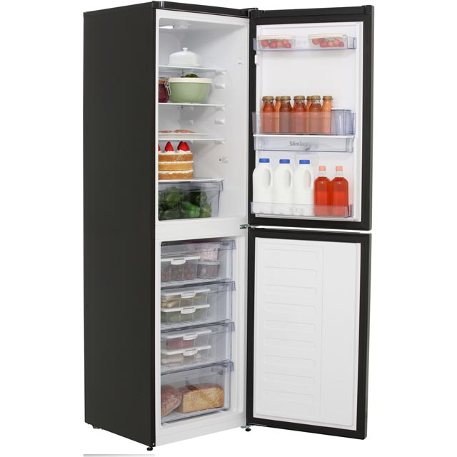 Beko CFG1582DB 50/50 Frost Free Fridge Freezer - Black - CFG1582DB_BK - 2