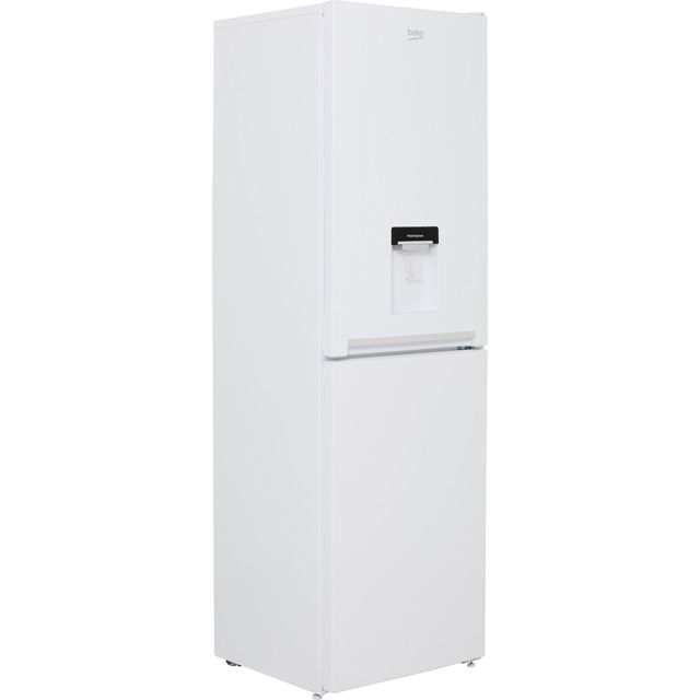 Beko CFG1582DW 50/50 Frost Free Fridge Freezer - White - A+ Rated Best Price, Cheapest Prices