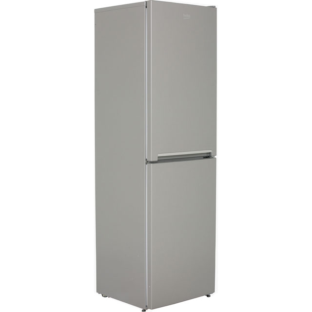 Beko 50/50 Frost Free Fridge Freezer - Silver - A+ Rated