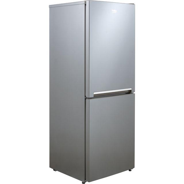 Beko CFG3552S 50/50 Frost Free Fridge Freezer - Silver - F Rated