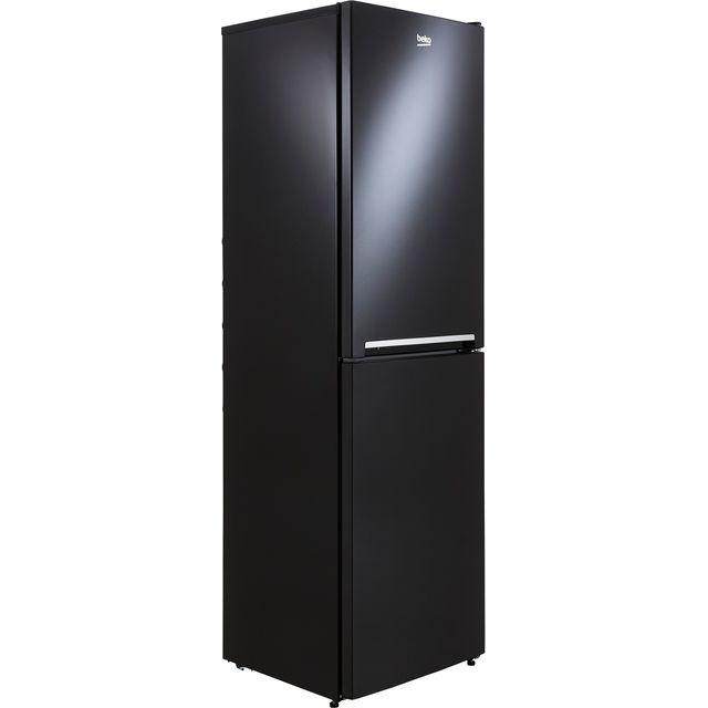 Beko CFG3582B 50/50 Frost Free Fridge Freezer - Black - F Rated