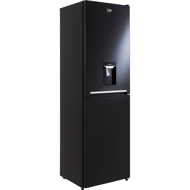 BEKO CFG3582DB 54CM FROST FREE TALL FRIDGE FREEZER BLACK